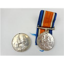 NAMED CANADIAN WWI 1914-1918 WAR MEDALS