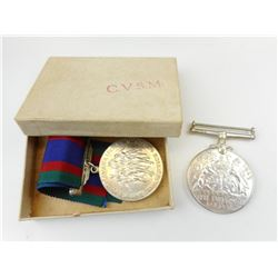 WWII CANADIAN MEDALS