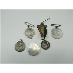 ASSORTED FRENCH & CANADIAN MEDALS/MEDALLIONS