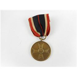 WWII GERMAN WAR SERVICE MEDAL WITH RIBBON