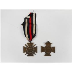 WWI GERMAN HINDENBURG CROSS MEDALS WITH (1) RIBBON
