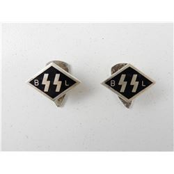 WWII GERMAN CIVILIAN LAPEL MEMBERSHIP SUPPORTER PINS
