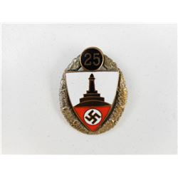 WWII GERMAN MILITARY VETERANS MEMBERS BADGE