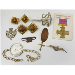 WWII CANADIAN & ASSORTED BADGES