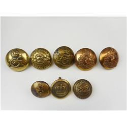 WWI/II ASSORTED CANADIAN MILITARY BUTTONS