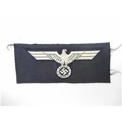 WWII GERMAN ARMY PANZER CAP INSIGNIA EAGLE