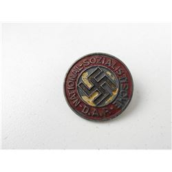 WWII GERMAN N.S.D.A.P. MEMBERS LAPEL BADGE