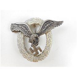 WWII GERMAN LUFTWAFFE PILOTS BADGE
