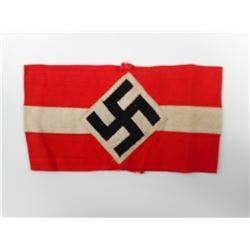 WWII GERMAN HITLER YOUTH SERVICE ARM BAND