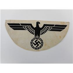 WWII GERMAN ARMY SPORTS VEST EAGLE INSIGNIA
