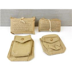 WWII BRITISH/ CANADIAN BANDAGES & POUCHES
