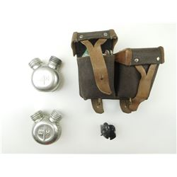SKS AMMO POUCH & OILERS & PLASTIC TRIGGER LOCK