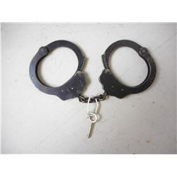 PEERLESS HANDCUFF CO. HANDCUFFS WITH KEY