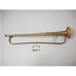 ANTIQUE WWI BAVARIAN BUGLE