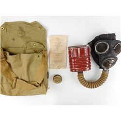 WWII CANADIAN MK IV GAS MASK