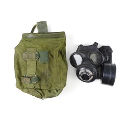 CANADIAN MILITARY C4 GAS MASK WITH CASE