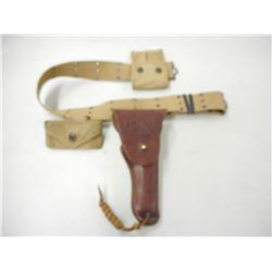 U.S. MILITARY COLT 1911 HOLSTER WITH BELT