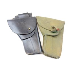 CANADIAN MILITARY BROWNING HIGH POWER HOLSTERS