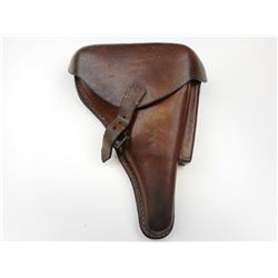WWI GERMAN P08 LUGER LEATHER HOLSTER