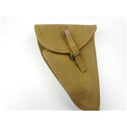 WWII CANADIAN FIRST PATTERNINGLIS HIGH POWER CANVAS HOLSTER