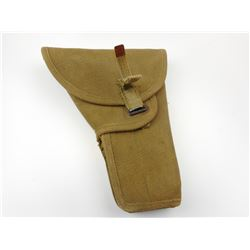 WWII CANADIAN MILITARY CANVAS HOLSTER FOR INGLIS HIGH POWER