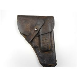 WWII GERMAN MAUSER 1914 LEATHER HOLSTER