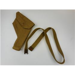 WWII CANADIAN MILITARY HOLSTER & SLING