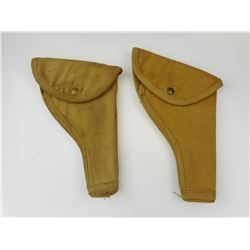 WWII CANADIAN MILITARY P37 HOLSTERS