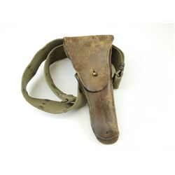 WWII U.S. MILITARY .45 ACP CAL. PISTOL HOLSTER FOR M1916 M1911 WITH BELT