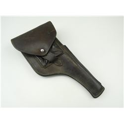 WWII GERMAN TYPE LEATHER HOLSTER FOR BROOM HANDLE MAUSER C-96