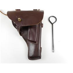 BROWN LEATHER HOLSTER FOR RUSSIAN TT-33