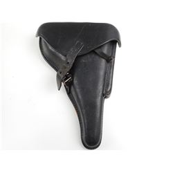 WWII GERMAN P08 LUGER LEATHER PISTOL HOLSTER