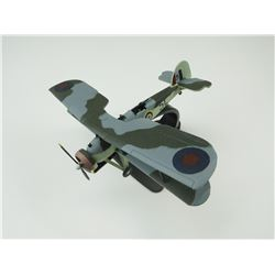 METAL MODEL AIRPLANE: FAIREY SWORDFISH I