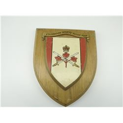 REGIMENTAL PLAQUE: 4TH CANADIAN INFANTRY BRIGADE GROUP