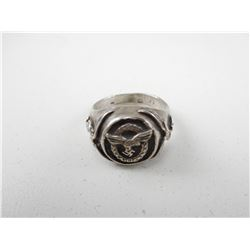 WWII GERMAN LUFTWAFFE PILOT RING