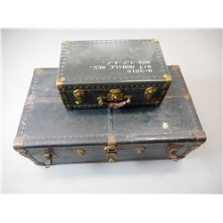 VINTAGE LUGGAGE TRUNKS WITH KEYS
