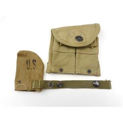 WWII U.S. MILITARY POUCHES