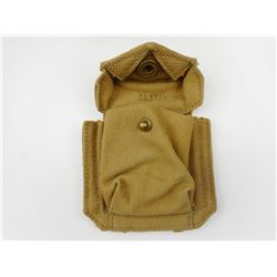 WWII CANADIAN P37 REVOLVER AMMO POUCH