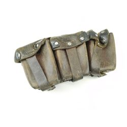 WWI GERMAN MILITARY M1909 7.92 X 57MM CAL. MAUSER AMMO POUCH