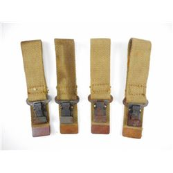 WWII CANADIAN WOOD SHOULDER STOCK HANGERS FOR INGLIS HIGH POWER
