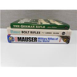 GERMAN RIFLES & MAUSER BOOKS