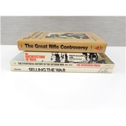 ASSORTED WAR/MILITARY BOOKS