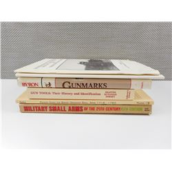 ASSORTED MILITARY FIREARMS & MARKINGS BOOKS