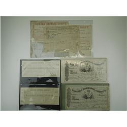ANTIQUE CANADIAN DOCUMENTS