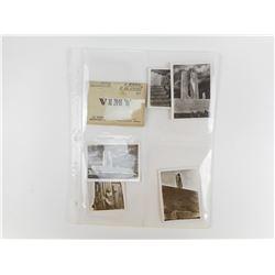 VINTAGE VIMY CARDS