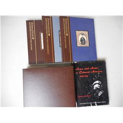 U.S. COLONIAL & CIVIL WAR BOOKS