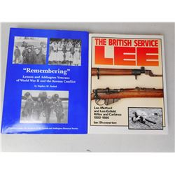 "THE BRITISH SERVICE LEE & ""REMEMBERING"" LENNOX & ADDINGTON VETERANS OF WWII BOOKS"