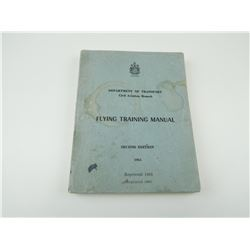 CANADIAN DEPARTMENT OF TRANSPORT FLYING TRANING MANUAL