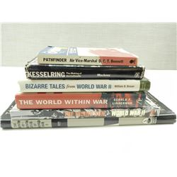 ASSORTED WWII BOOKS