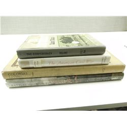 ASSORTED WAR & CIVIL WAR BOOKS